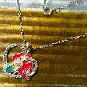 Disney's Ariel Pendant Necklace